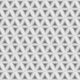 Padrão geométrico cinzento claro abstrato