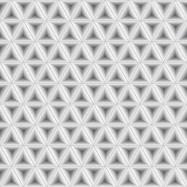 Patrón geométrico gris claro abstracto