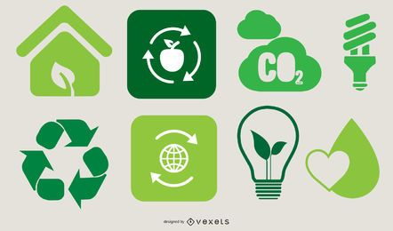 Ecological Go Green Design Set
