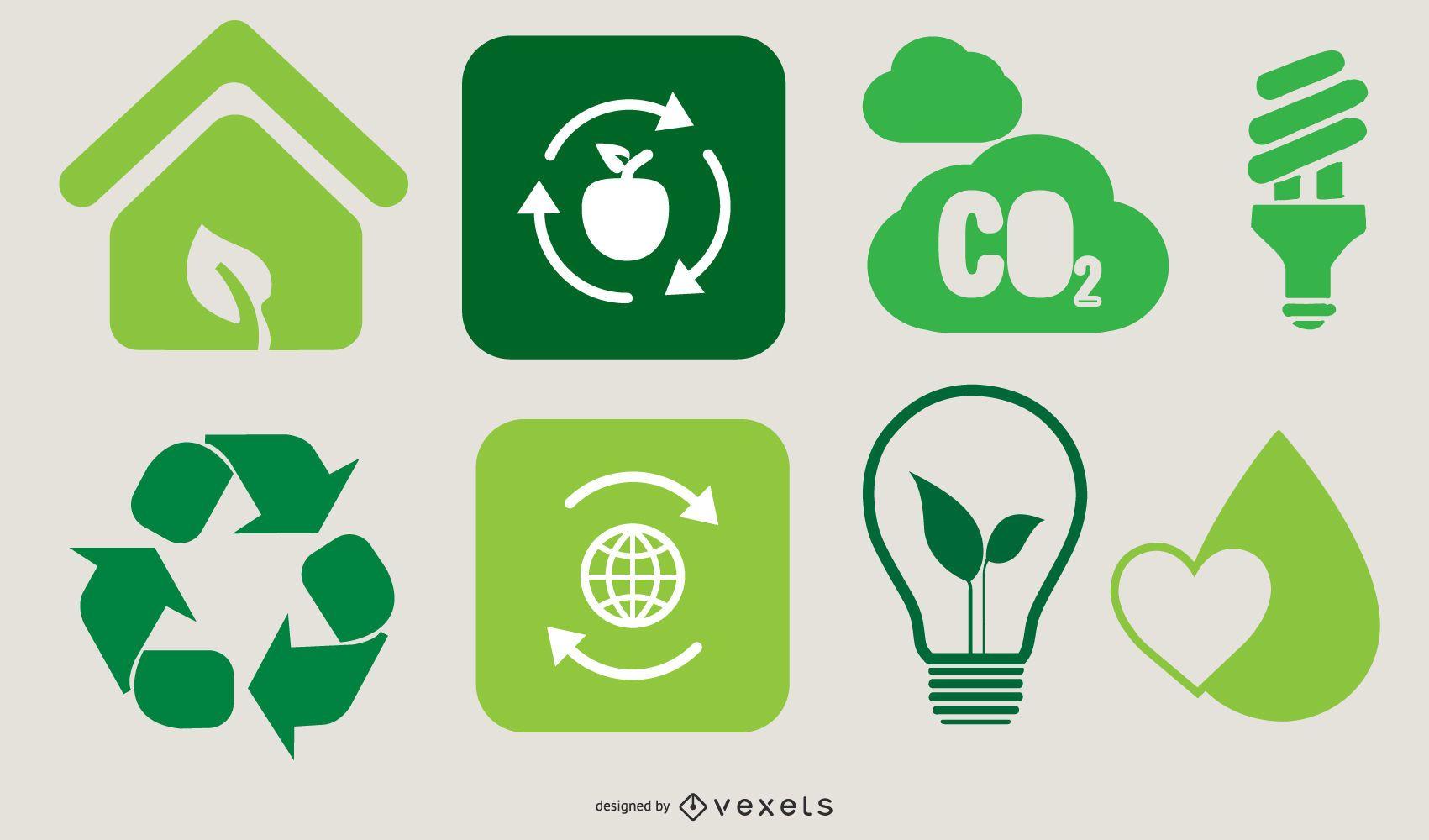 Ecological Go Green Design Set
