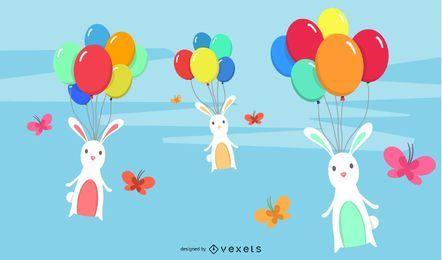 Elementos creativos de Pascua