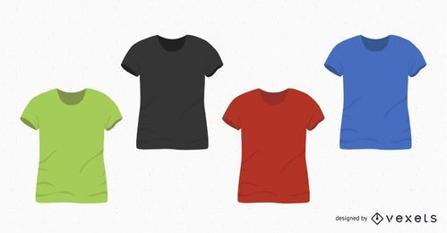 T-Shirt Design blank set