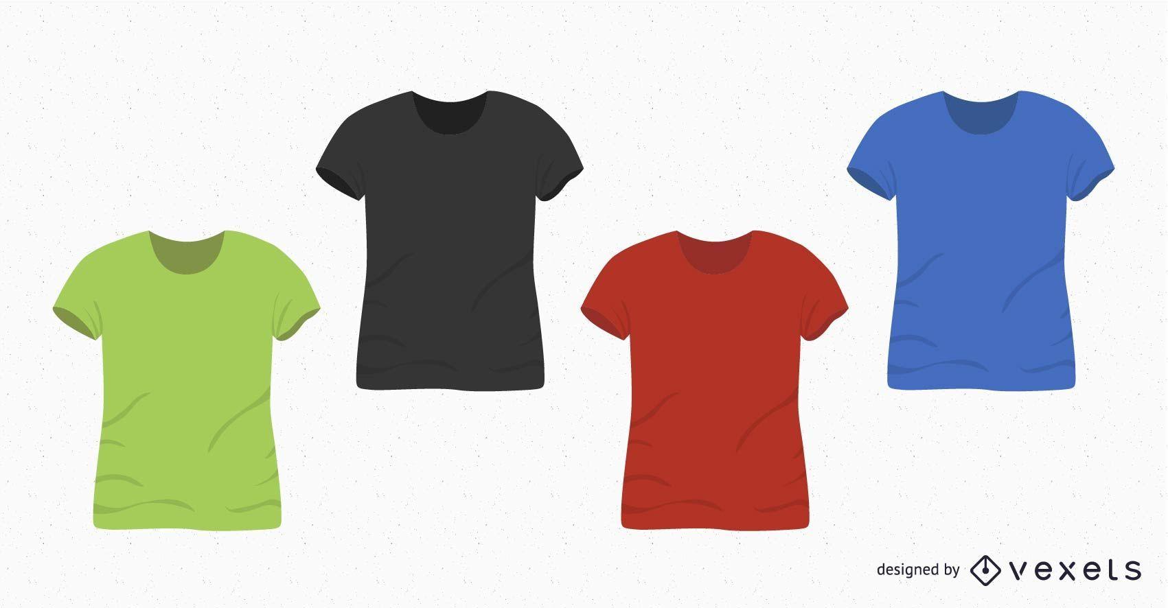 T-Shirt Design blank set