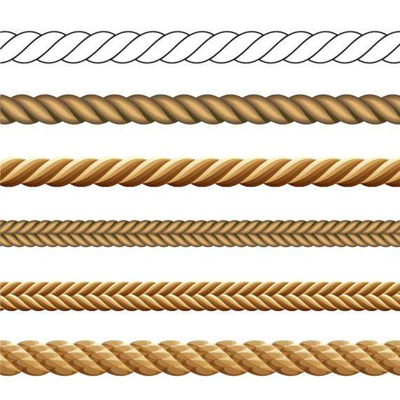 Paquete de cuerda abstracta