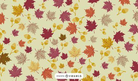 Gefallener Herbstlaub-Hintergrund