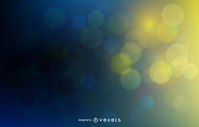 Fondo colorido con burbujas borrosas de Bokeh