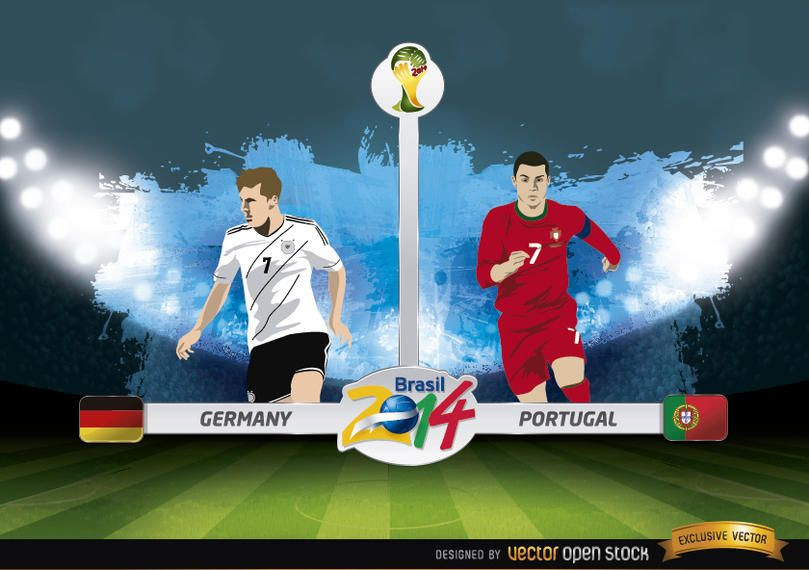 Germany vs. Portugal match Brazil 2014