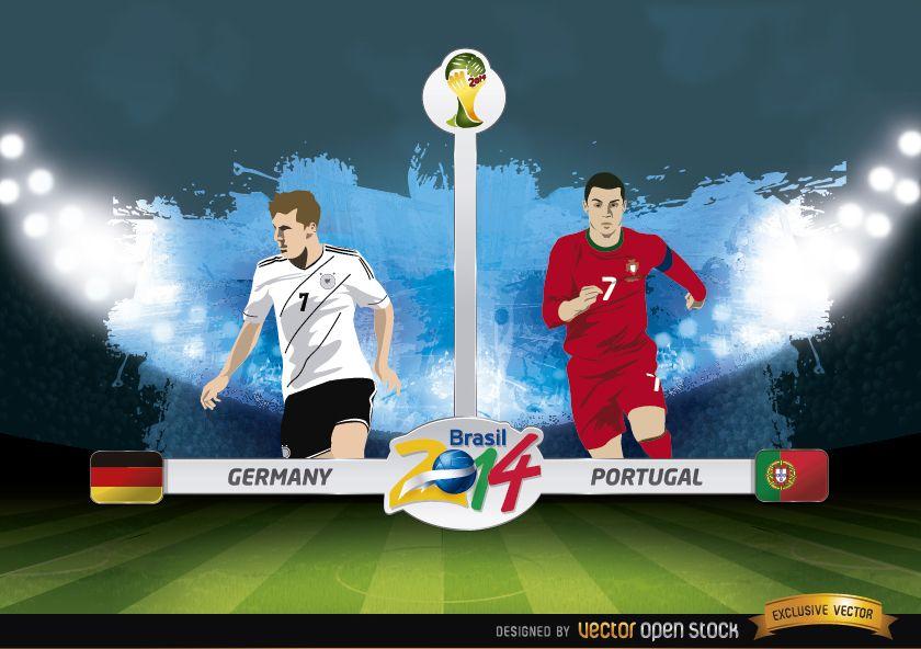 Germany vs. Portugal match Brazil 2014