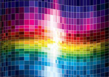 Fondo abstracto colorido espectro