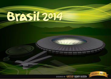 Estádio do Maracanã Brasil 2014