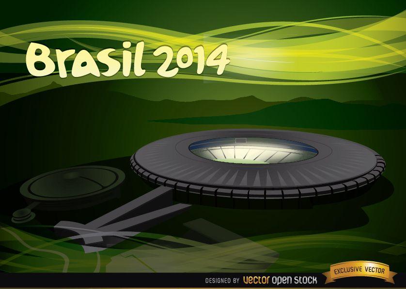 Maracana Stadium Brazil 2014