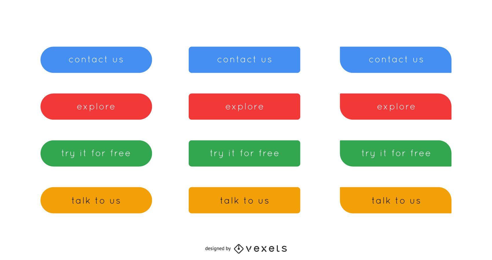 Elegant Web Button & Icon Pack
