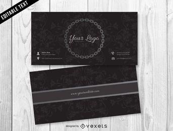 Jóias escuro Design de cartão