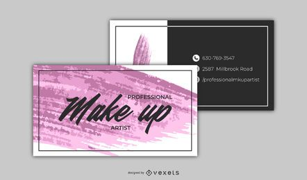 Light Avon Business Card Template