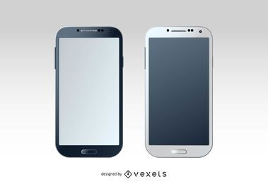 Conjunto en blanco Samsung Galaxy S4