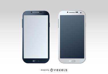 Maquete do Samsung Galaxy S4