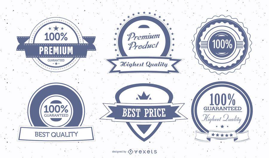 Escudo Premium Vintage Insignias y Sellos