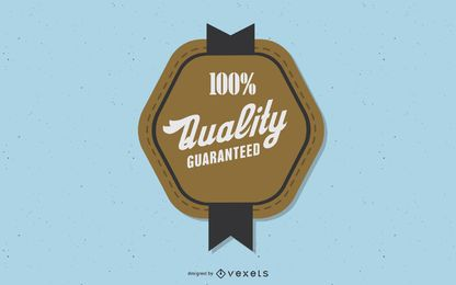 Vintage Premium Badge