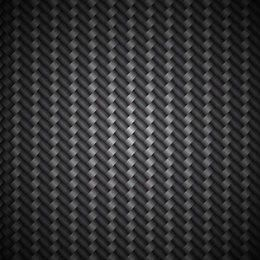 Metallic Carbon Fiber Pattern Background