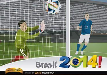 Brasil 2014 Captura de golos
