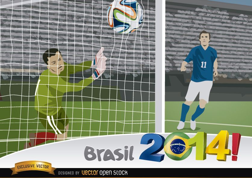 Brasil 2014 Goal capture