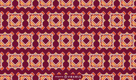 Bunter mit Ziegeln gedeckter Muster-Hintergrund