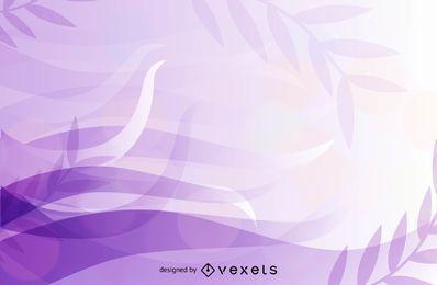 Fondo floral purpurino fluorescente