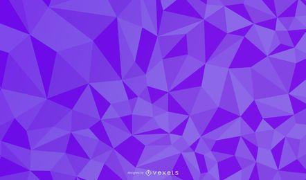 Resumen en relieve patrón cúbico fondo violeta