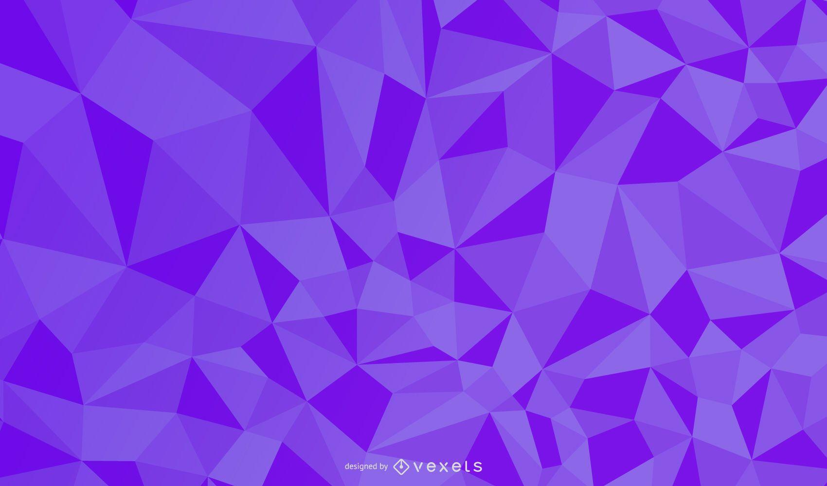 Resumen patrón cúbico en relieve sobre fondo violeta