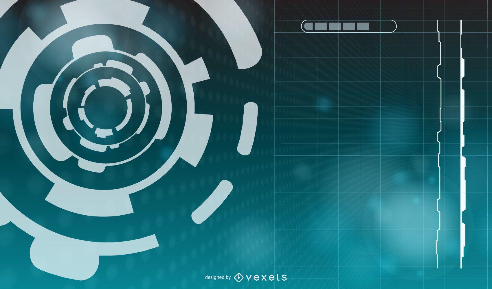 Abstract Modern Tech Background