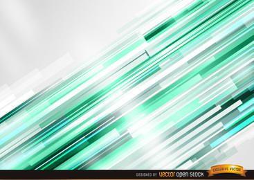 Fundo de barras verdes brilhantes