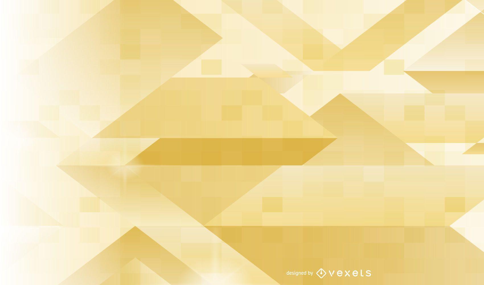 Abstract Golden Linen Texture Insert Between Background