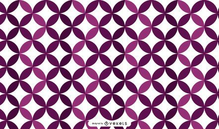 Glowing Purplish Mosaic Background