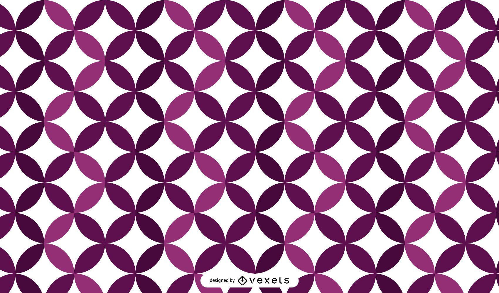Glowing Purplish Mosaic Background