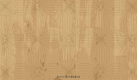 Fondo de madera sucio con elementos florales