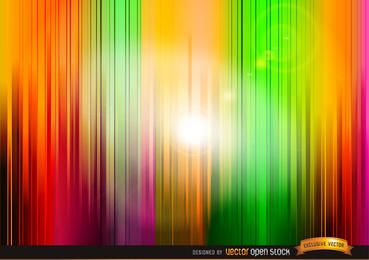 Vertical colored stripes background