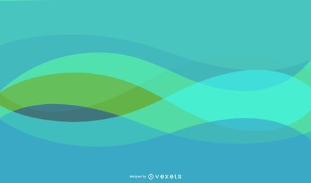 Fondo abstracto colorido con líneas espirales mezcladas