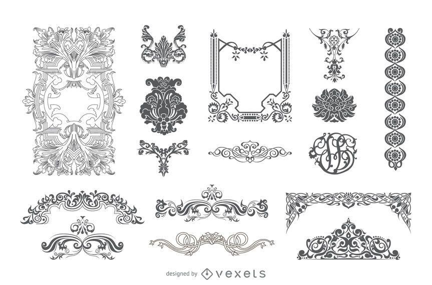 viktorianische Ornamente
