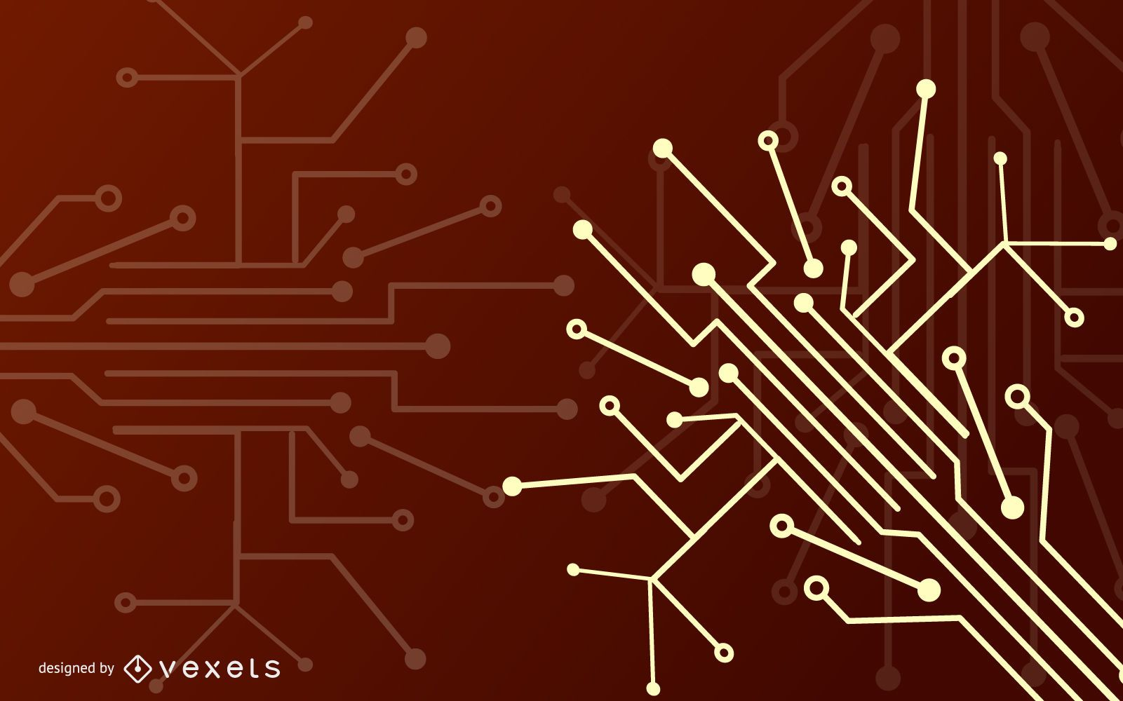 Chip Wires Abstract Electrical Background
