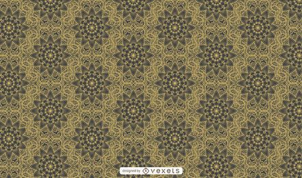 Luxurious Retro Ornamental Pattern Background