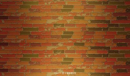 Grungy patrón de pared de ladrillo Vintage