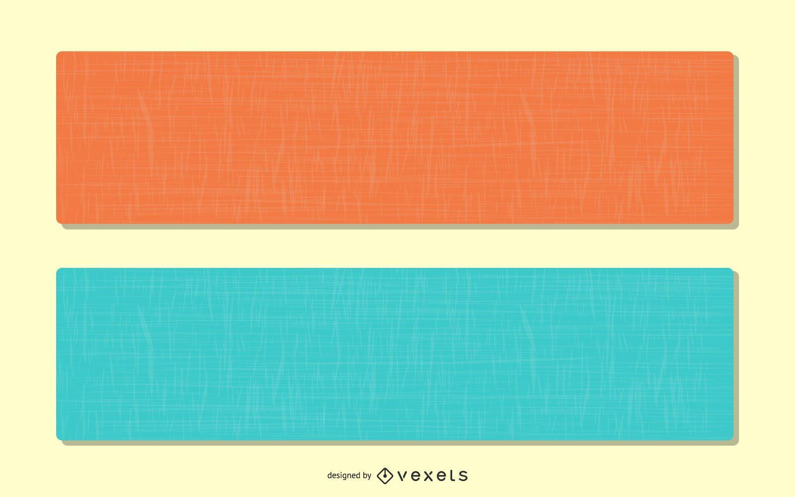 Bright Linen Banner Backgrounds