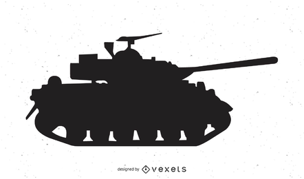 Vector de tanque de abrams