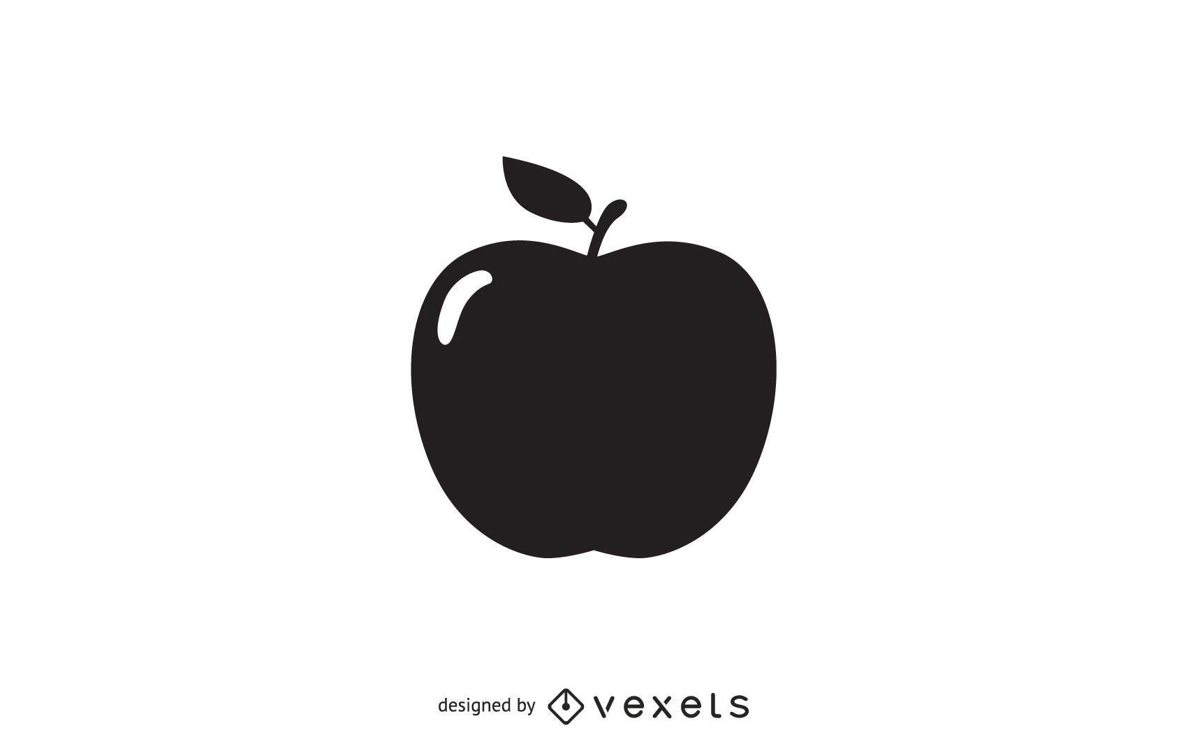 Vector de manzana