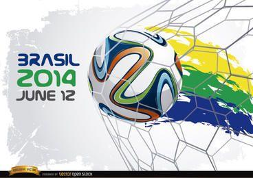 Inicio de la Copa Mundial Brasil 2014