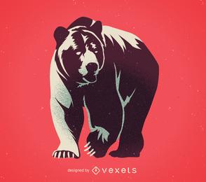 Vetor de urso