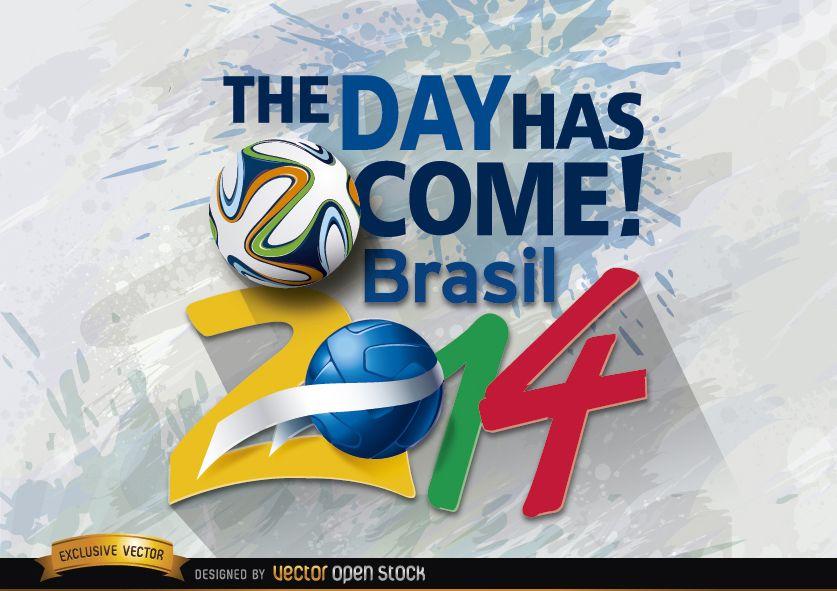 Brazil 2014 beginning day promo