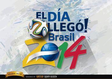 Brasil 2014 día de inicio promo