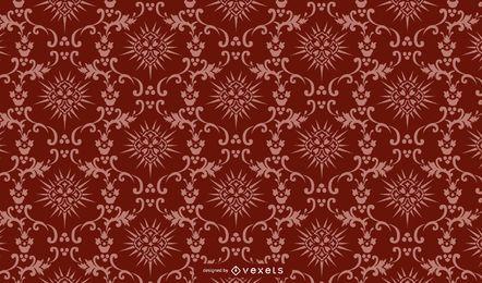 Vintage Paisley Pattern fundo de ponta