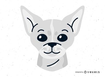 Chihuahua-Hundevektor